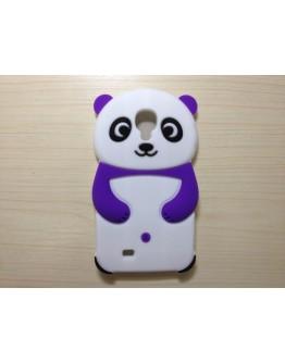 Carcasa protectie spate Panda din silicon pentru Samsung Galaxy S4 I9505